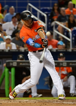 MLB: AUG 13 Rockies at Marlins